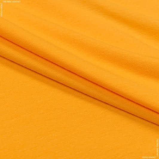 Тканини для суконь - Кулір- стрейч penye  жовтий