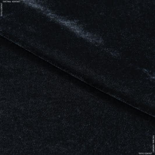 Тканини для суконь - Велюр стрейч сірий