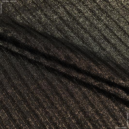 Тканини для суконь - Трикотаж резинка з напиленням