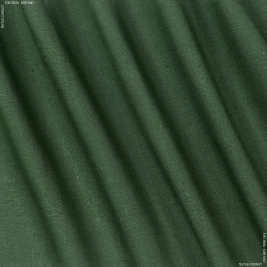 Тканини для суконь - Льон зелений
