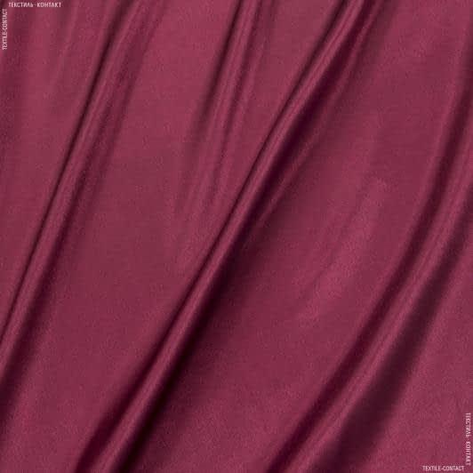 Тканини для хусток та бандан - Креп-сатин бордовий
