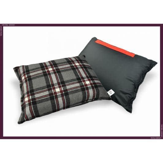 Ткани подушки - Плед 4 в 1 красный
