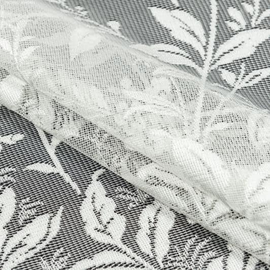 Тканини гардинні тканини - Гардинне полотно гіпюр бьянка ваніль