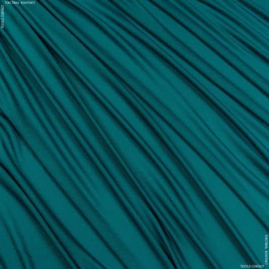Тканини для суконь - Трикотаж масло темно-бірюзовий