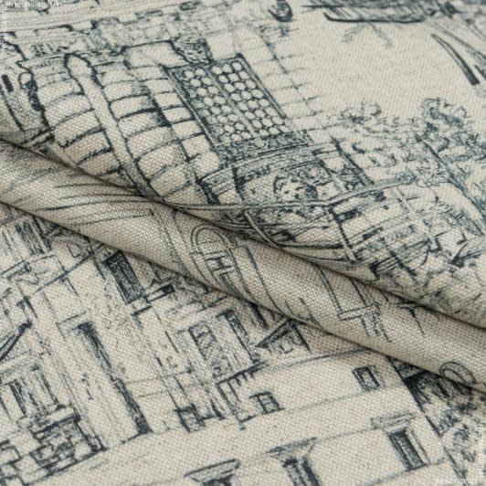 Тканини портьєрні тканини - Декоративна тканина лужан венеція тон натуральний