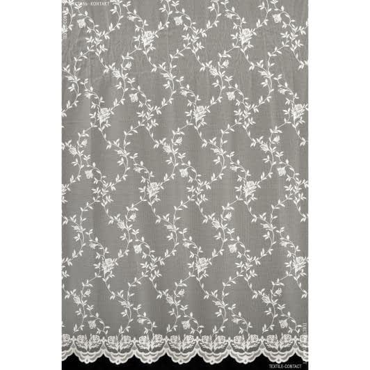 Ткани гардинные ткани - Гардинное полотно бутон розы