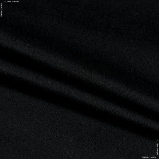 Ткани для верхней одежды - Пальтовый кашемир черный