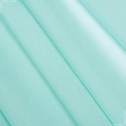 Тканини для хусток та бандан - Шифон натуральний стрейч м'ятний