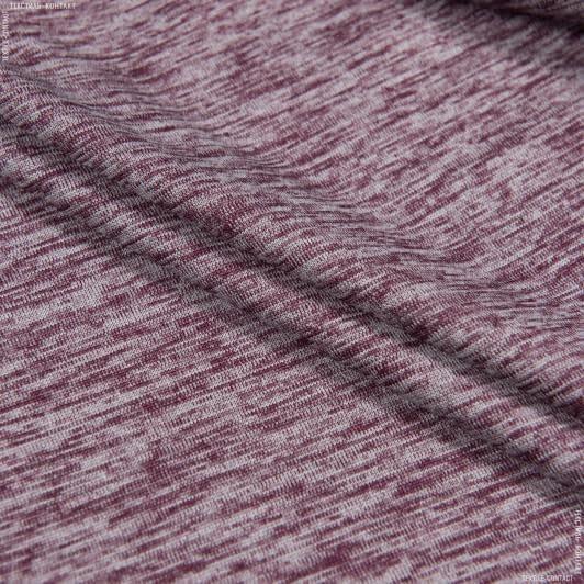 Тканини для блузок - Трикотаж бордовий