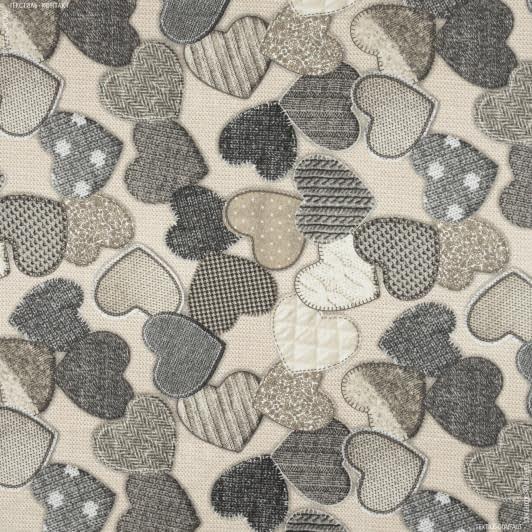 Тканини для дитячого одягу - Фланель серця