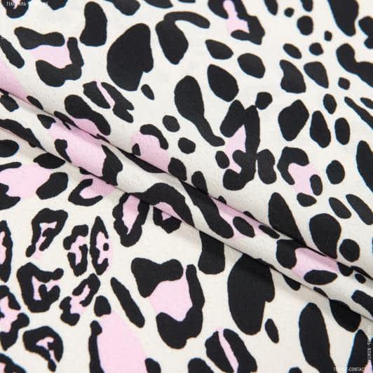 Ткани для платьев - Плательный креп morrocaine принт