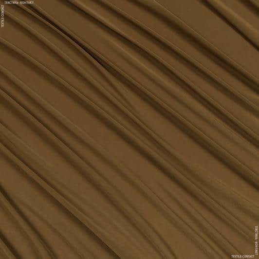 Ткани для платьев - Трикотаж масло светло-коричневый