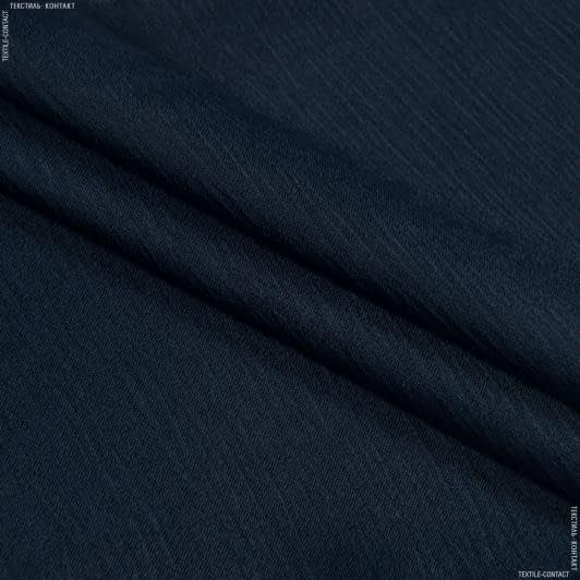 Тканини для костюмів - Платтяна жасмін темно-синій