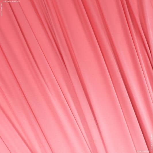 Ткани для платков и бандан - Атлас стрейч  розовый