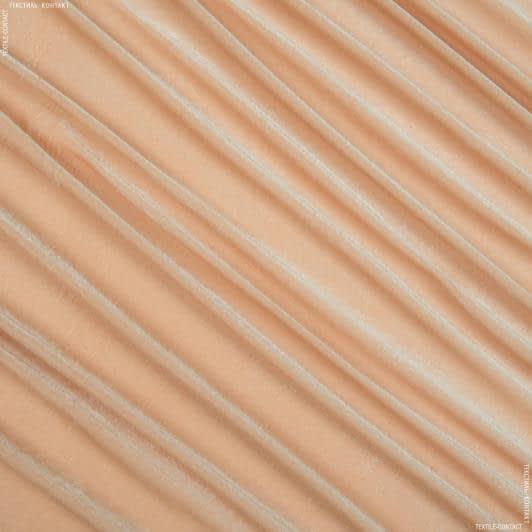 Тканини для суконь - Велюр стрейч бежевий