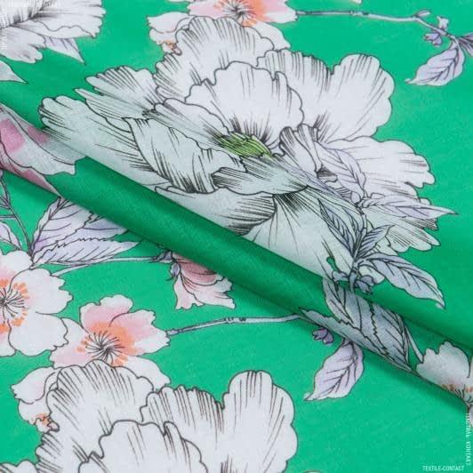 Ткани для платьев - Батист sifflet принт