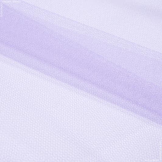 Тканини для блузок - Фатин жорсткий світло-бузковий