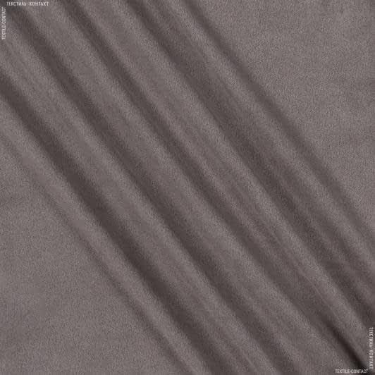 Тканини для штанів - Замша стрейч двостороння палевий