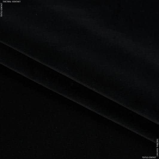 Ткани для мебели - Велюр  метро с огнеупорной пропиткой / metro черный сток