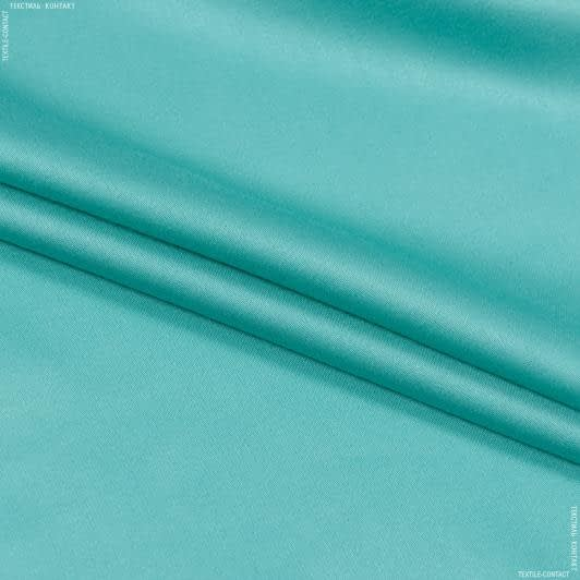 Тканини для суконь - Костюмний сатин м'ятний