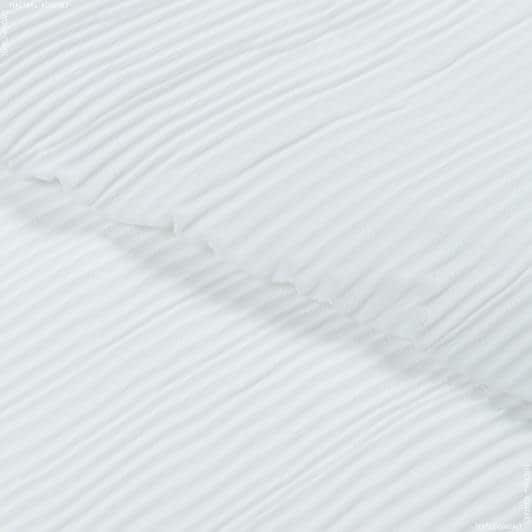 Тканини для суконь - Шифон плісе білий