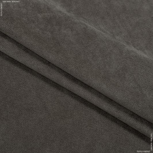 Ткани для мебели - Велюр будапешт/budapest какао
