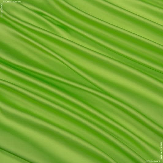 Тканини для хусток та бандан - Шовк штучний яскраво-салатовий