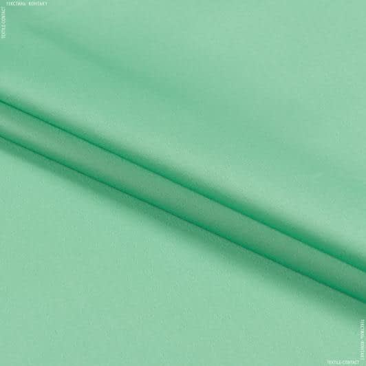 Тканини для штанів - Котон-сатин лайт стрейч світло-салатовий