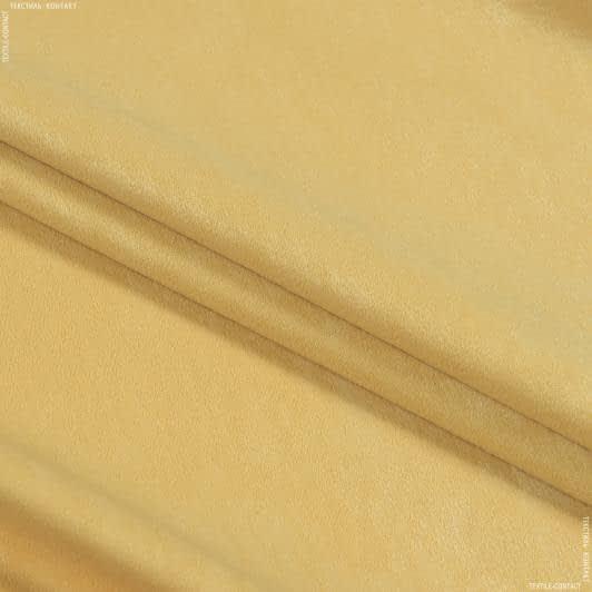 Тканини портьєрні тканини - Чін-чіла софт мрамор вогнетривка fr/ св.золото