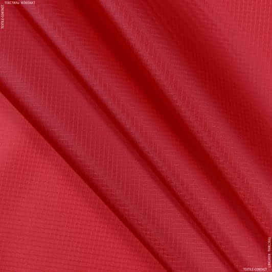 Тканини ріп-стоп - Ріп-стоп курточний червоний