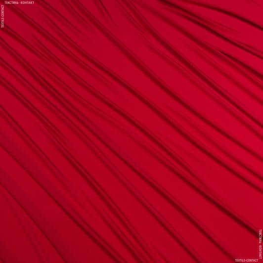Ткани для платьев - Трикотаж масло красный