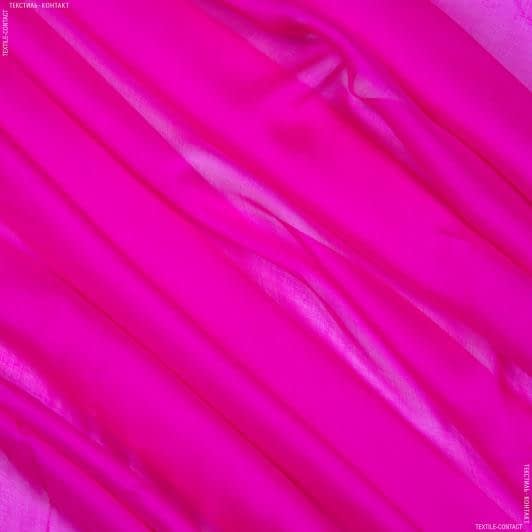 Ткани для платков и бандан - Шифон-шелк фуксия
