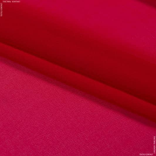 Тканини для хусток та бандан - Шифон мульті червоний