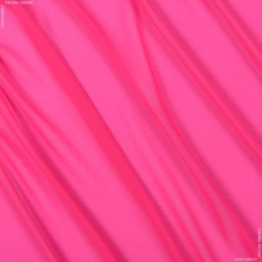 Ткани для платков и бандан - Шифон мульти светло-малиновый