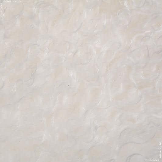 Тканини для верхнього одягу - Лама натуральна 110*55см білий