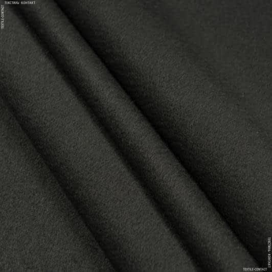 Ткани для верхней одежды - Пальтовая ворсовая темно-серый