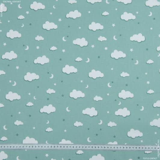 Тканини для постільної білизни - Бязь набивна хмари