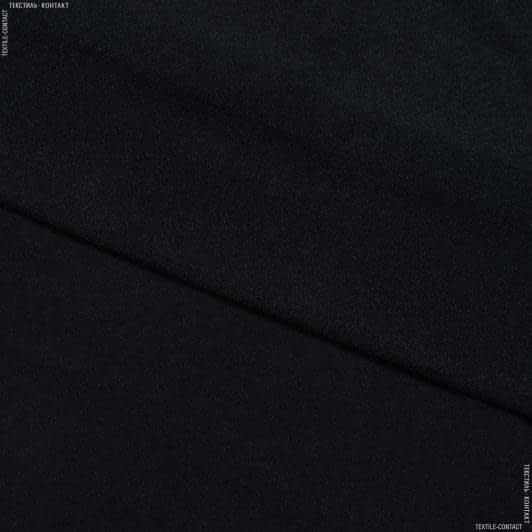 Тканини дублірин, флізелін - Дублірин стрейч чорний 30г/м