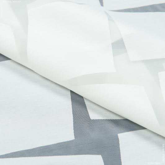 Тканини гардинні тканини - Органза випал з обважнювачем АРКОНА / молочний