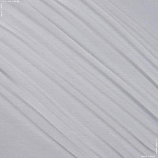 Ткани гардинные ткани - Тюль   батист с утяжелителем  рики  молочный