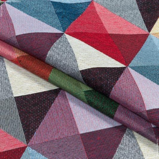 Тканини для декоративних подушок - Декор-гобелен абстракція алмудана/almudaina мультиколор