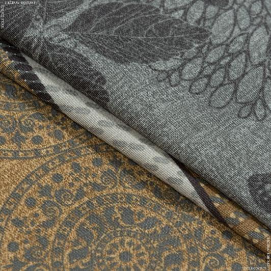 Ткани для скатертей - Ткань с акриловой пропиткой мюнхен т.беж.серый