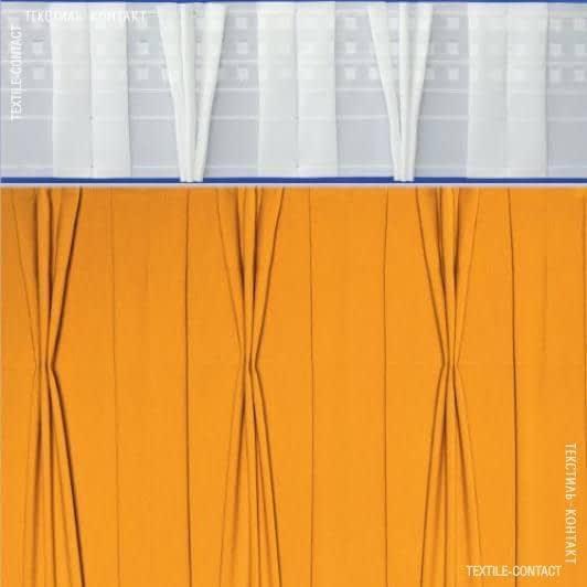 Ткани фурнитура для дома - ТЕСЬМА ШТОРНАЯ КС-1:2.5 170мм±0.5мм/50м матовая Курин.лапка