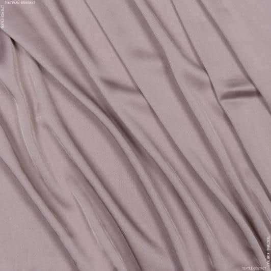 Ткани для платков и бандан - Шелк искусственный стрейч розово-палевый