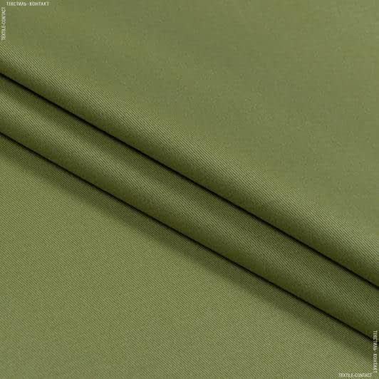 Тканини для банкетних і фуршетніх спідниць - Декоративний сатин гандія/gandia оливка