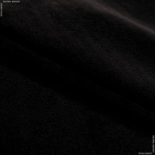 Тканини для театральних завіс та реквізиту - Велюр роял з вогнетривким просоченням /royal чорний сток
