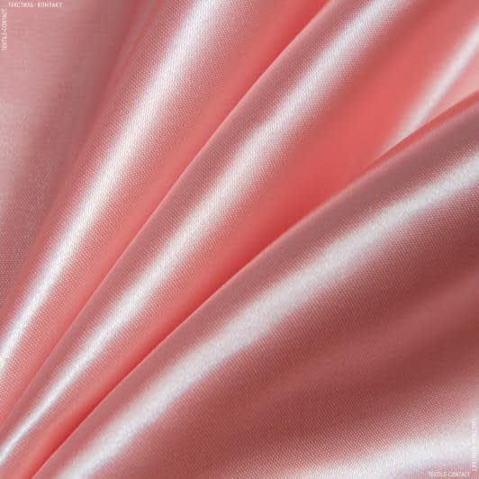 Ткани для белья - Атлас плотный абрикос