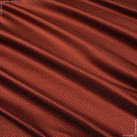 Ткани портьерные ткани - Портьера Нури  компаньон ромбик  бордо