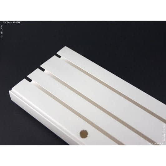 Ткани карнизы - Карниз потолочный пласт. 3-полосный 120 см