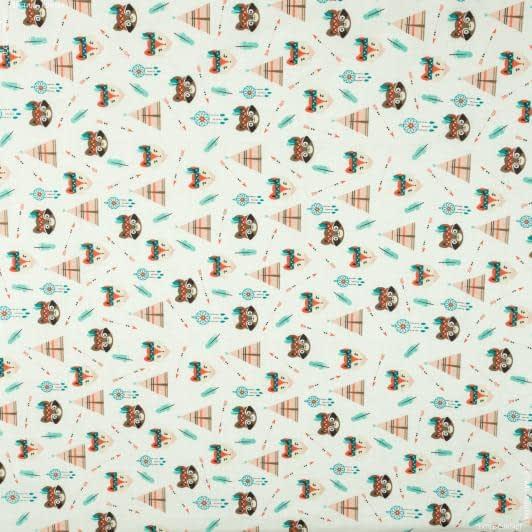 Ткани для детского постельного белья - Бязь набивная голд dw  детская